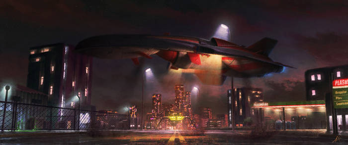 Fanart: XCom - UFO:EU 1994 - Avenger? Intro by AlfDsz