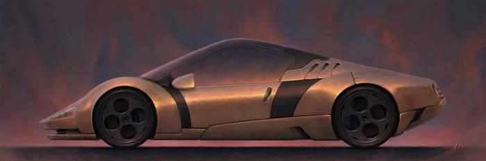 Brise - Concept Car Illustration
