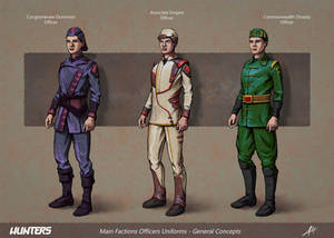 Hunters - Officers Concepts