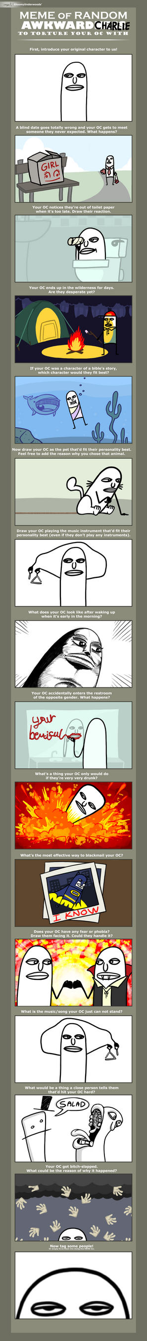 Meme of random Awkward Charlie by lnsector