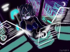 Krystal-arwing by Mot-Karma