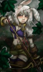Adventurer Bunny by Mot-Karma