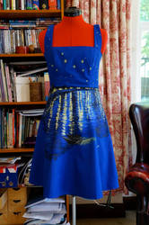 Starry Night Over the Rhone Dress by KatKatDreamer95