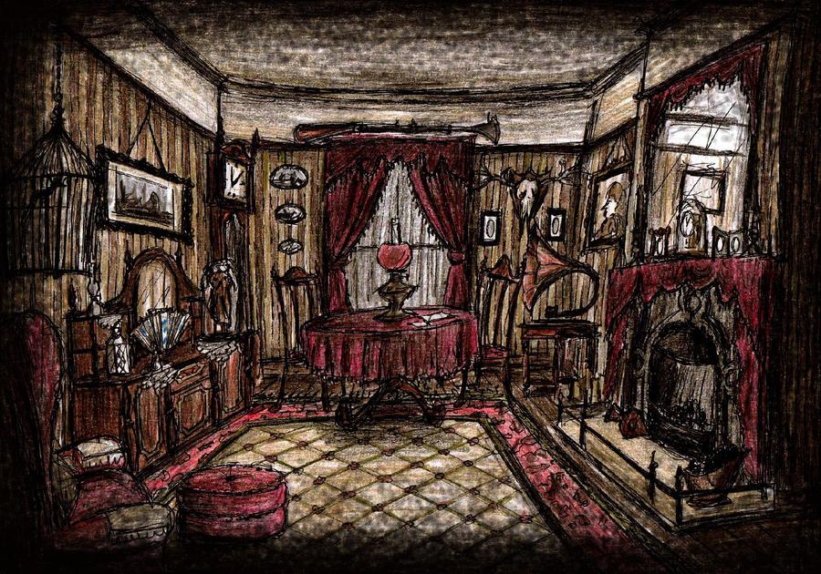Tatchbury's Parlour by Hebbybobdige