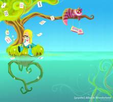 Psycho Alice in Wonderland by Littlejunko