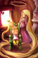 Tangled by Littlejunko