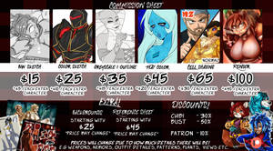 Tatara's Commission Prices 2019 by Tatara94