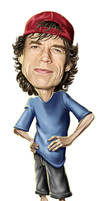 Mick Jagger by NestorCanavarro