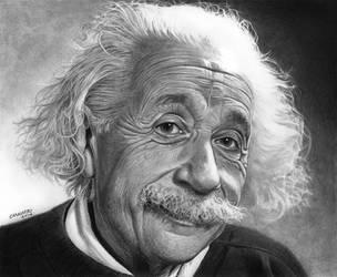 Albert Einstein by NestorCanavarro