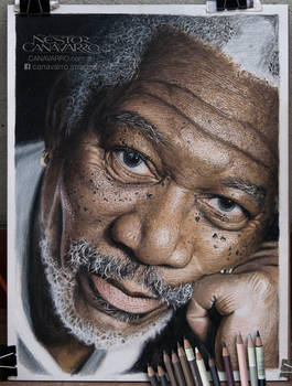 Morgan Freeman - WIP #6