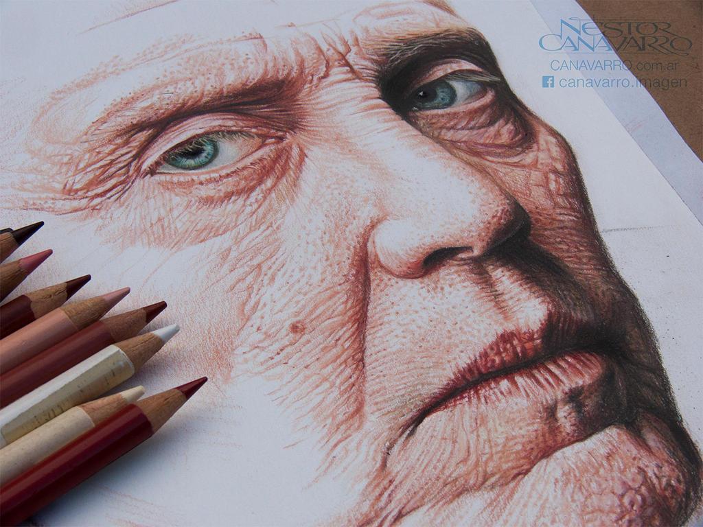 Christopher Walken by NestorCanavarro