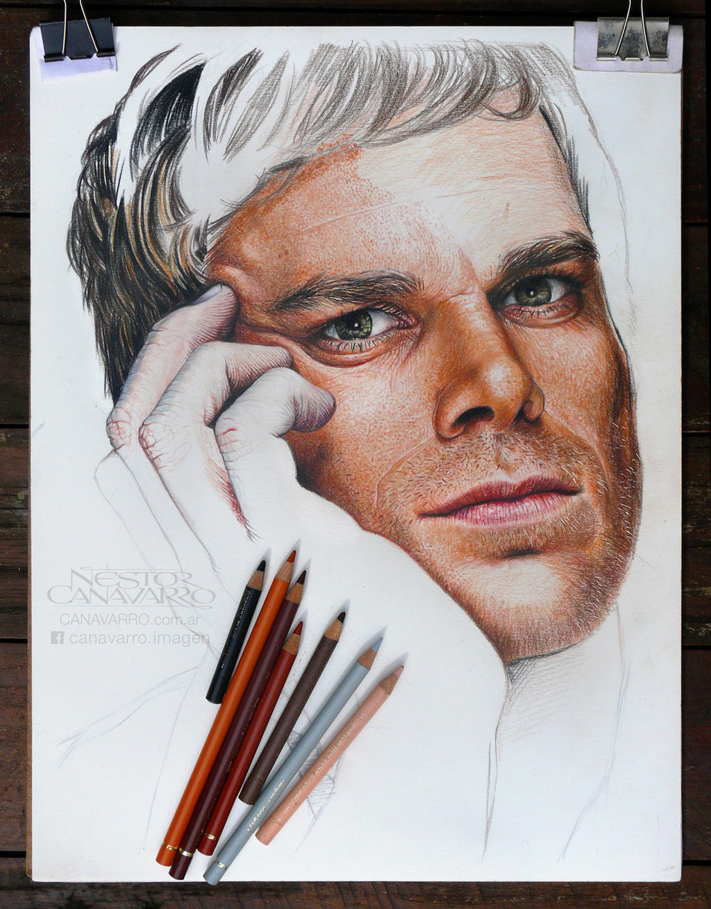 Dexter Morgan (Michael C. Hall) - WIP - State 4 by NestorCanavarro