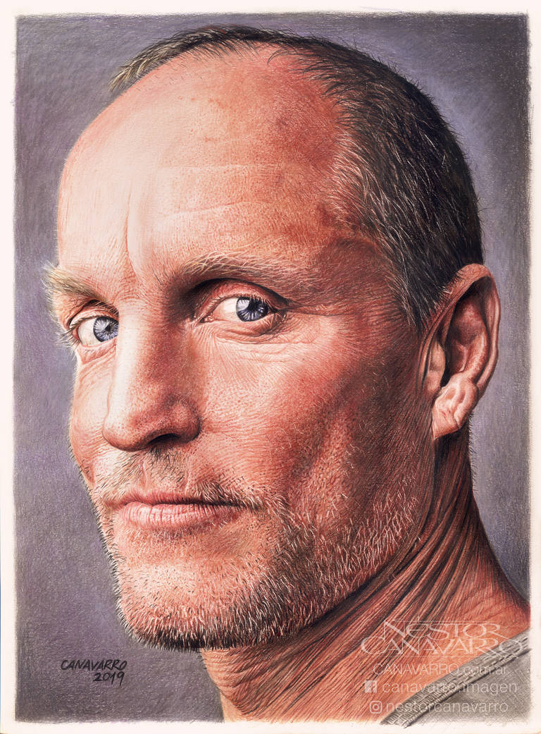 Woody Harrelson by NestorCanavarro