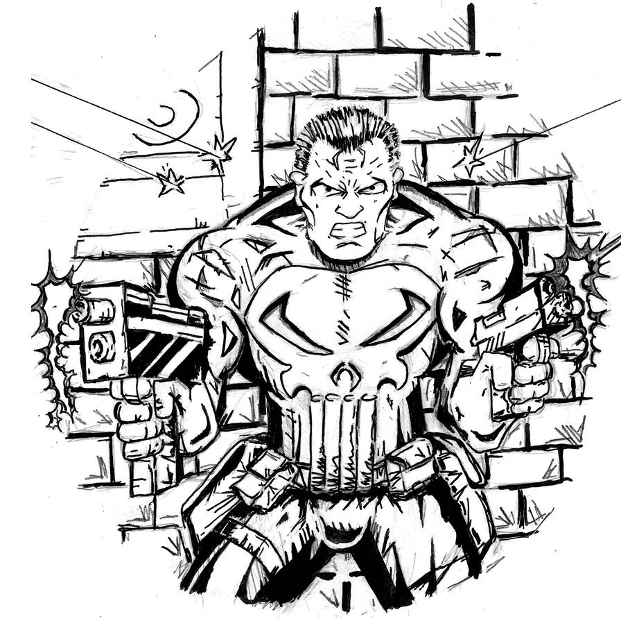 Ghost Rider Coloring Pages #10