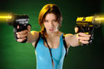 Fawn as Lara Croft 7