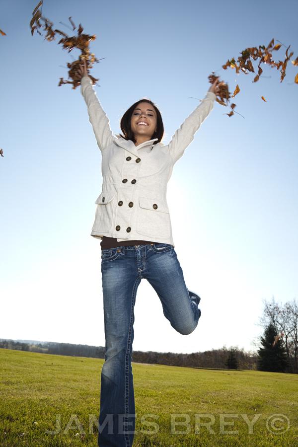 An Autumn Day With Breeanna by JamesBrey