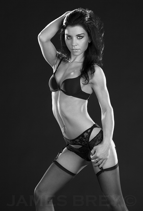 Black Lingerie 1 by JamesBrey