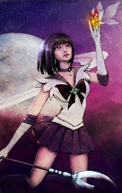 Sailor Saturn by Nerealnost