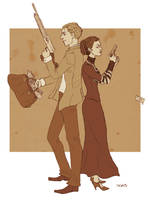 Bonnie and Clyde by ggns