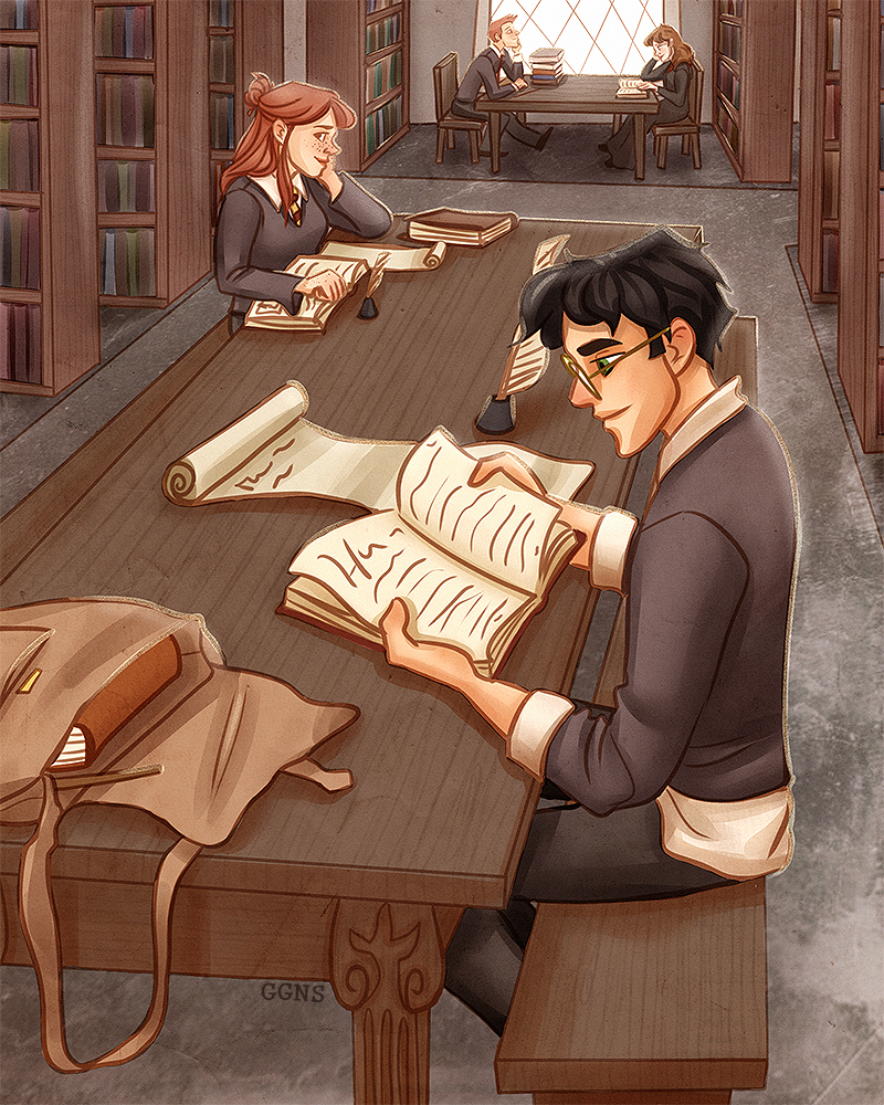 Library Time by ggns