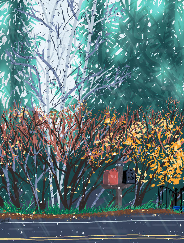 November Snow by ggns