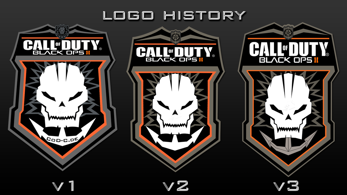 Call of duty black ops 2 official logo render by dakujya on call of duty black ops 2 official logo render by dakujya voltagebd