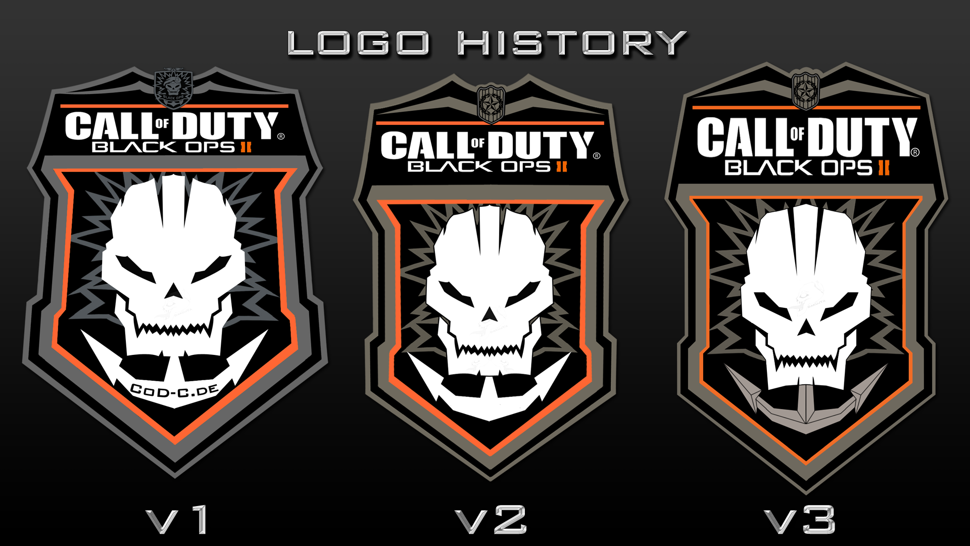 Call Of Duty Black Ops 2 Official Logo Render By Dakujya On Deviantart