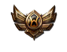 Basic Bronze Tier League of Legends Emblem by Narishm