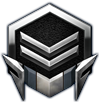 Starcraft II High Level Silver Logo by Narishm