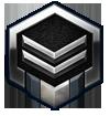 Starcraft II Middle Level Silver Logo by Narishm