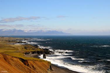 Iceland eastern coast