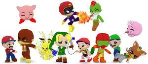 Super Smash Bros 64 Buddypoke