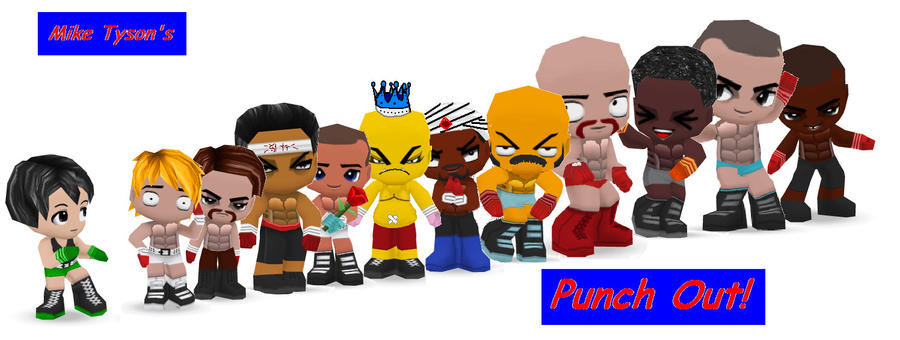 Punch Out Wii Soda Popinski : Punch out buddypoke by ben djammin on deviantart
