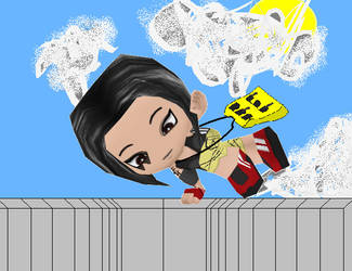 Faith Connors Buddypoke by Ben2DJammin