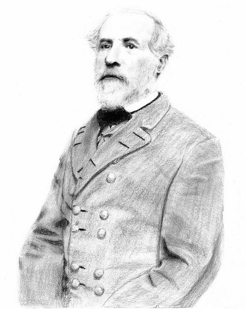 General Robert E. Lee by BlackRoseAngel