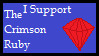 The Crimson Ruby - Support Stamp by Cymix-Productions