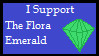 The Flora Emerald - Support Stamp by Cymix-Productions