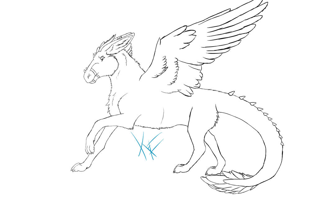 Fursuit Reference Sheet Template Sketch Coloring Page