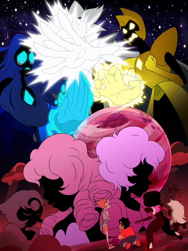 """Oh Pink... If only you knew how much Blue and Yellow actually loved you""     First of all, I have to say that my mind was blown by the newest episodes of Steven Universe. Other that bein..."