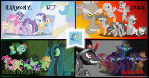 The Elements of Equestria.