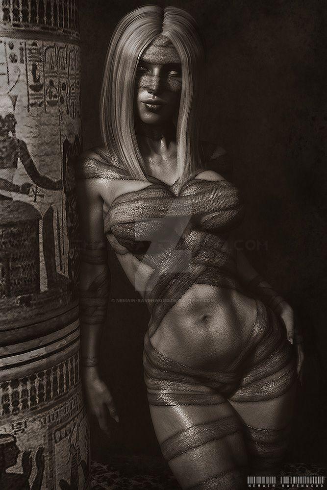 Mummy Dust by nemain-ravenwood
