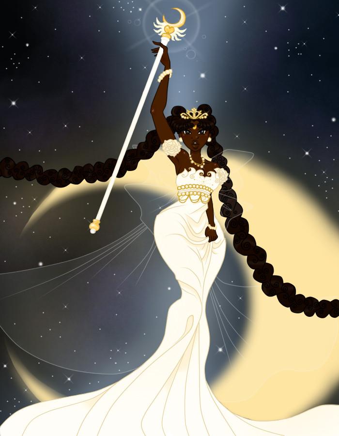 Sailor Moon - Ethnic Wallpaper Neo Queen Serenity by guillmon9005