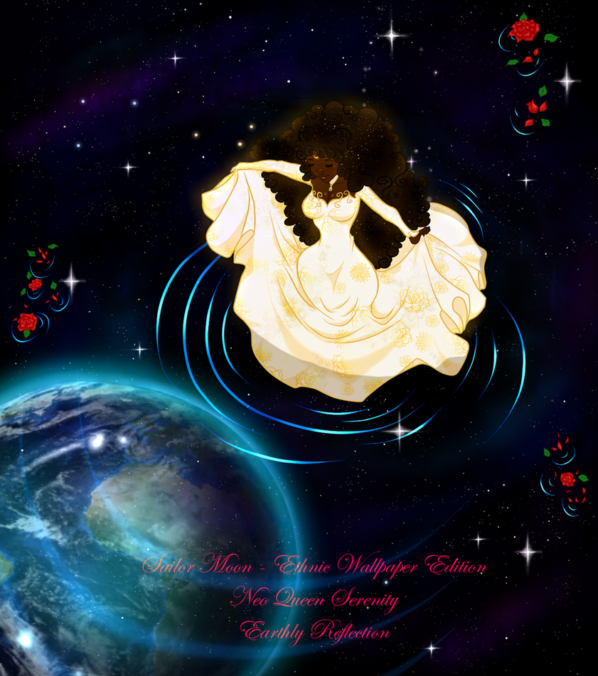 Sailor Moon - Ethnic Edition - Earthly Reflection by guillmon9005