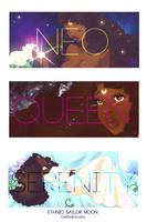 Ethnic Sailor Moon - 3 Queen Serenity by guillmon9005