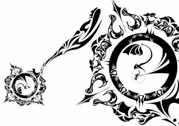 Compass Tattoo Line Drawing : Fantasy compass by littlewhitesheep on deviantart