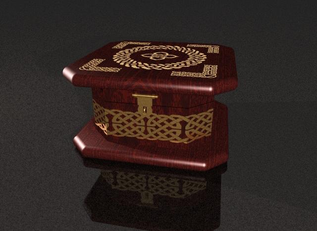 Celtic Jewelry Box by DreamingSky on DeviantArt