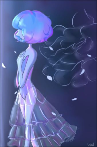 really old pieces from like april ?? these are so old //cri Blue Pearl is from Steven Universe