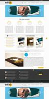 Business Portfolio and Blog - Site Template