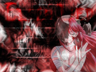 Elfen Lied Wallpaper 1024x768