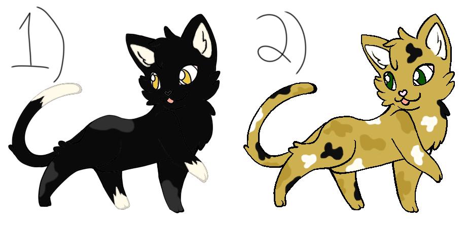 Warrior Cat Adoptables! #2 OPEN by Froststrike5829